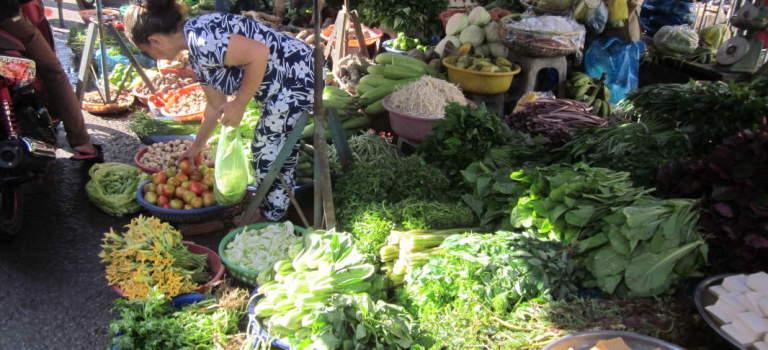 Street Food in Ho Chi Minh Stadt, Vietnam