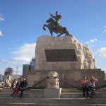 Suchbaatar Denkmal