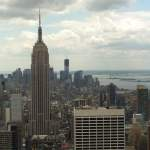 Downtown view with Empire State Building