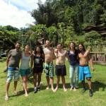 Reisegruppe Dschungeltrek