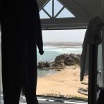 Blick aus dem Fenster