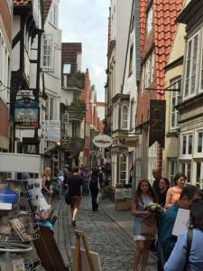 Das Schnoorviertel - mittelalterliche Altstadt