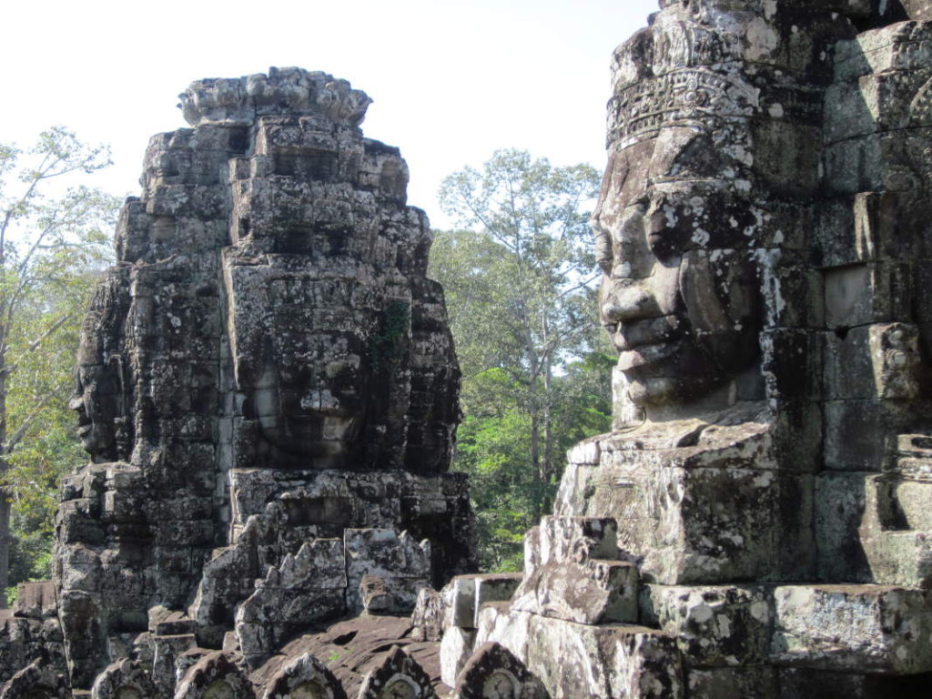 Bayon Temple - Stone Faces