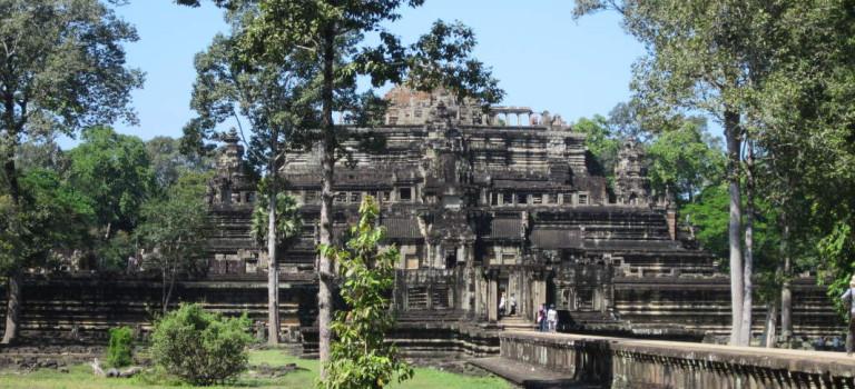Die vom Urwald eroberten Angkor Tempel bei Siem Reap in Kambodscha