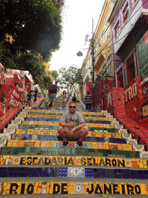 Escadaria de Selaron - Rio de Janeiro